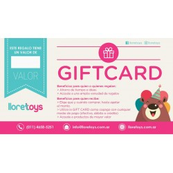 Gift Card Tarjeta de Regalo
