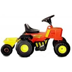 Tractor con Trailer Rodacross Bateria 6v