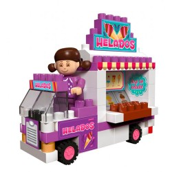 Blocky Chicas Food Truck