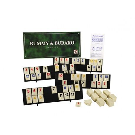 Rummy Burako Clásico Ruibal 1056