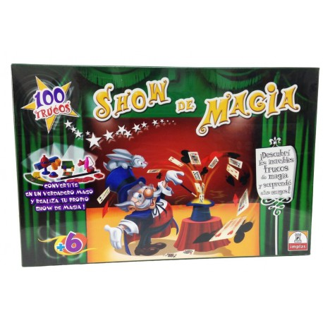 Show de Magia 100 trucos Implas 365
