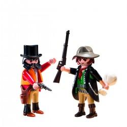 Playmobil Duo Pack 5512 Sherif Y Bandido Del Viejo Oeste