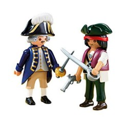 Playmobil Duo Pack 6846 Pirata y Soldado