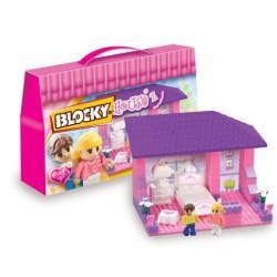 Blocky House Dormitorio 80 Piezas