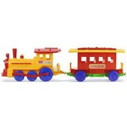 Tren con vagon de pasajeros Calesita 130