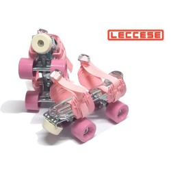 Patines Leccese Classic Rosa