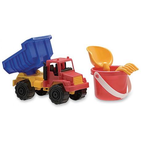 Camión con balde chico, pala y rastrillo Duravit 200