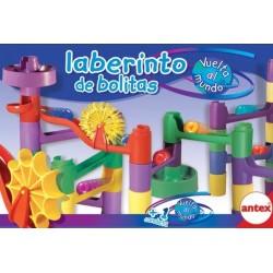 Laberinto de bolitas Vuelta al mundo Antex 3326