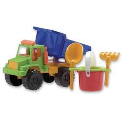 Camión mediano con balde completo